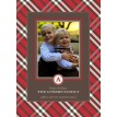 Christmas Photo Holiday Plaid Printable Card